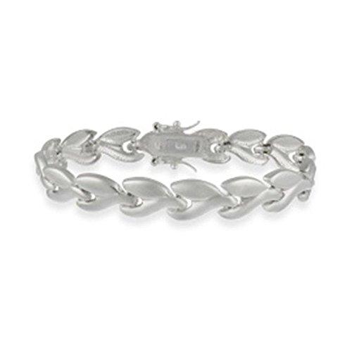 7' Bone (Sterling Silver Wishbone Bracelet, 7'')