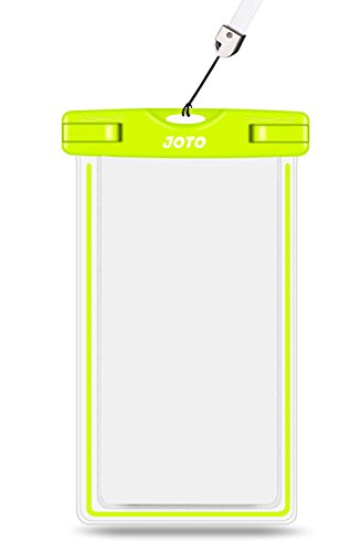Universal Waterproof Case, JOTO Cell Phone Dry Bag for Apple