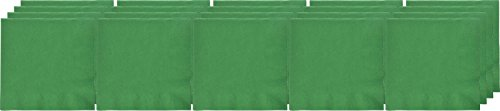 Festive Green 3-Ply Luncheon Napkins | Pack of 20 | Party Supply ()