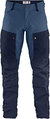 Fjallraven - Men's Keb Trousers Regular, Dark Navy-Uncle Blue, 50