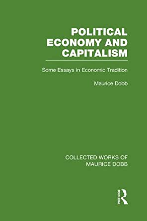 essays in the political economy of australian capitalism Capitalism, regulation theory and australian that have characterised australian political economy since the of australian capitalism is apparent.