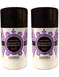 Lavanila The Healthy Deodorant Vanilla Lavender Pack of 2