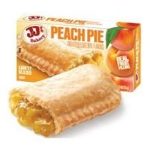 JJs Peach Pie Dessert - 48 per case. by JJ's