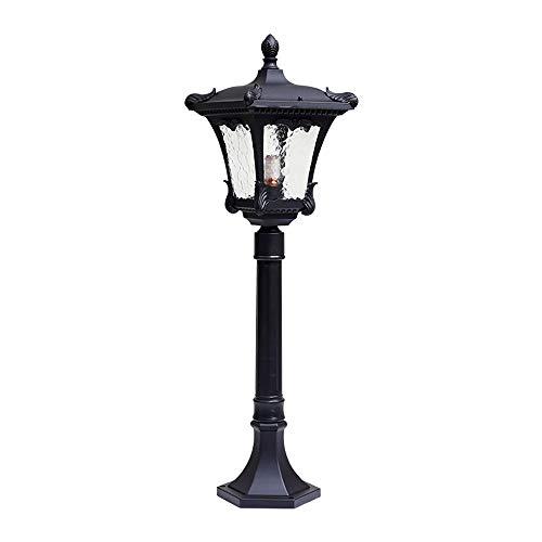Pcqre American Outdoor Simple Landscape Light Garden IP55 Waterproof Pillar Light Villa Decorative Rustproof Path Lights…