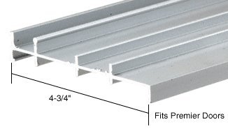 CRL Aluminum OEM Replacement Threshold for Premier - 6 ft long by C.R. Laurence