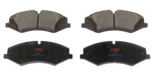 TRW TPC1425 Premium Ceramic Front Disc Brake Pad Set