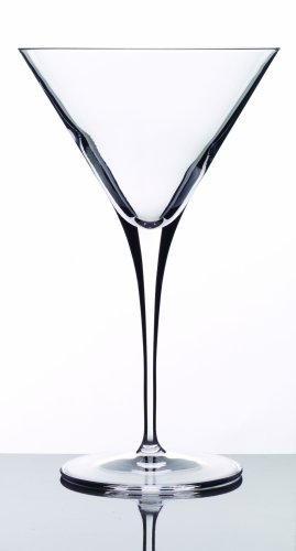 (Luigi Bormioli 09558/07 Crescendo 10 Ounce Martini Glasses, Set of 4,Clear)