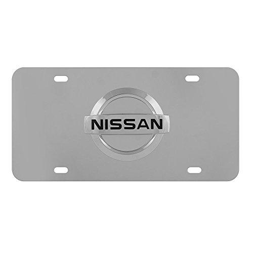 Pilot Automotive LP-151B Nissan Chrome 3D License (Nissan License Plate Frame)