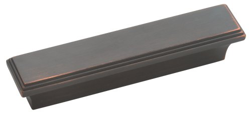 Amerock BP26116ORB Manor 3in(76mm) CTC Pull - Oil-Rubbed Bronze (Amerock Manor Cabinet Pull)