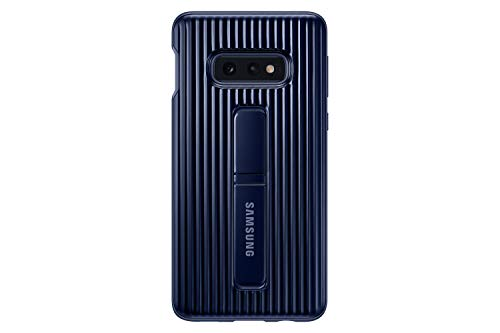 Samsung Galaxy S10e Rugged Protective Case with Kickstand, Blue