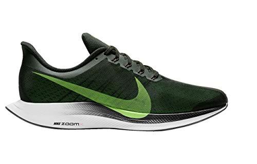 Turbo Shoes - Nike Men's Air Zoom Pegasus 35 Turbo Running Shoes (11.5, Black/Lime)