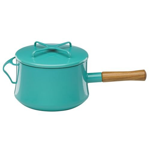 Dansk Saucepan with Helper Handle - Teal - 3 Quart
