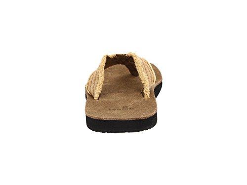 Sanuk Non Fraid Hommes Sandales / Chaussons / Flip-flop Chaussures - Kaki / Taille 10