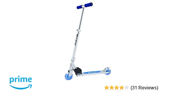 Razor A Lighted Wheel Kick Scooter - Blue