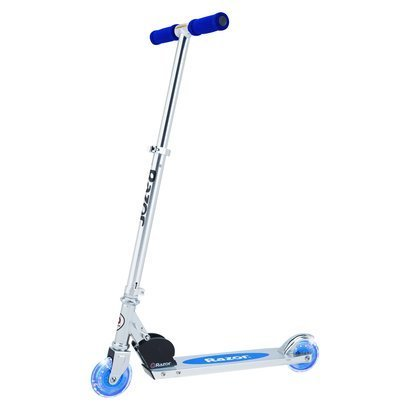 Razor A Lighted Wheel Kick Scooter – Blue