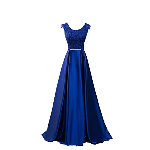 (Elegant Evening Dress Appliques Banquet Party Dress Stunning Satin Prom Dresses Robe De Soiree)