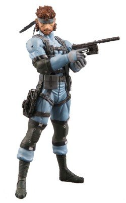 Metal Gear Solid Medicom 7 Inch Action Figure Snake [MGS2]