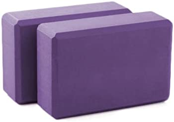 Calm Yoga 2 Sturdy Supportive Foam Blocks