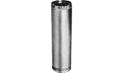 American Metal 8hs-12 Insulated Chimney Pipe, 3 Wall by American Metal
