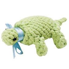 Jax and Bones Good Karma Rope Dog Toy, Ted the Turtle