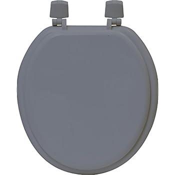 Evideco 4105180 5 5 Quot X 14 25 Quot Molded Wood Toilet Seat