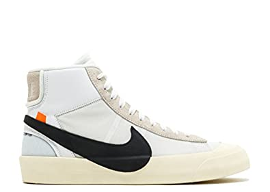 NewNikefashion The 10 Nike Blazer Mid Off White White, Black muslin aa3832  100