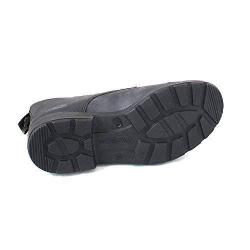 Unisex Toe Cap Blundstone W Rustic BL1619 Black F1dRwf