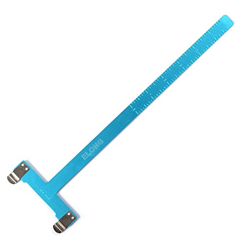 - Ww Zat Archery Bow Square T Shape Ruler Measurement for Recurve Bow and Compound Bow Color Blue(pack of 1)