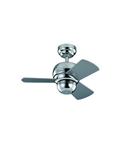 Monte Carlo Polished Ceiling Fan - 5