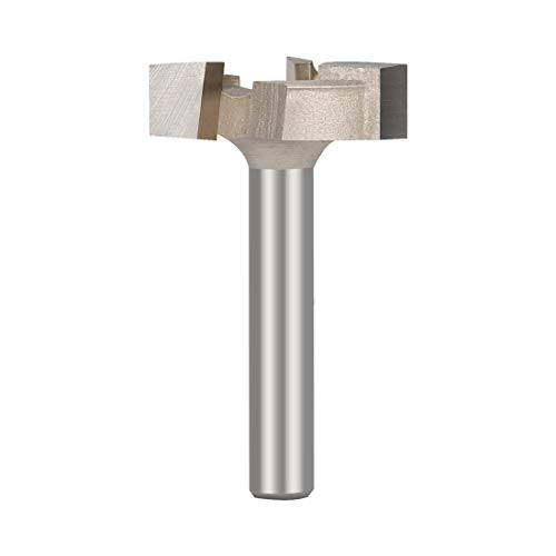 CNC Spoilboard Surfacing Router Bit 1/4'' Shank Durable Carbide Tipped By SILIVN - 1 ()