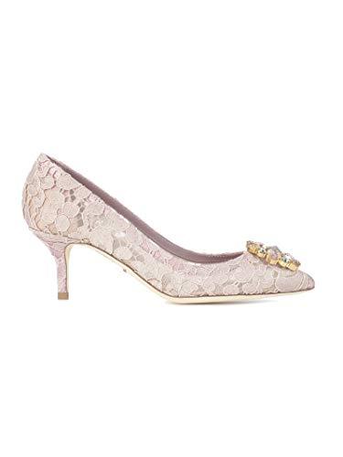Dolce Pink Dress Gabbana - Dolce e Gabbana Women's Cd0066al19887142 Pink Viscose Pumps