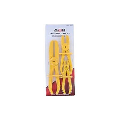 ABN 3 Piece Flexible Fuel Brake Water Line Hose Clamp: Automotive