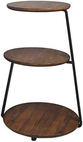 取り外し可能なベッドサイドテーブル、ウッドエンドテーブル61 * 30 Cm、ブラックウォールナットを組み立てる必要がある、リビングルームのベッドルームソファ用