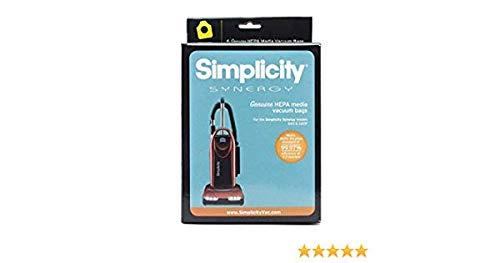 (simplicity synergy hepa bags for model s40 and s40p)