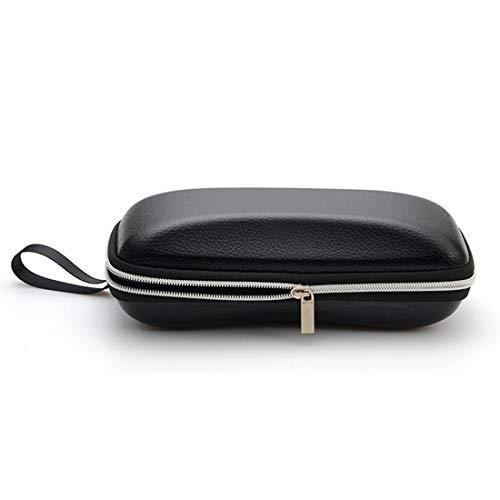 Case 5 Box 16 En Des 6cm Size Cuir Glasses Pu Shell Zipper Soleil De Lunettes PqFw787
