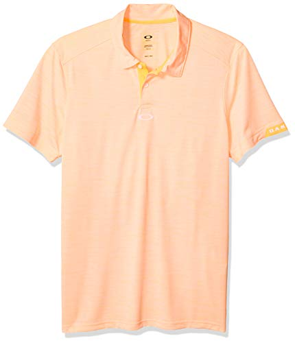 Oakley Men's Gravity Polo, Sun Orange, XL