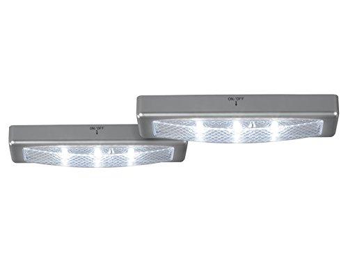 Argento o Bianco LED sottopensile, senza fili Lampada da interno ...