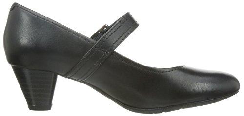 Clarks Denny Date Black Leather Black Leather