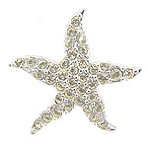 Swarovski Jonquil Starfish 2007 Tack Pin