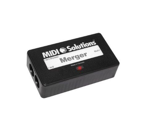 MIDI Solutions 2-input MIDI Merger by MIDI Solutions