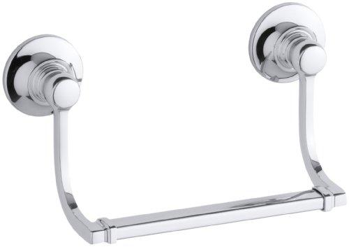 KOHLER K-11416-CP Bancroft Hand Towel Holder, Polished Chrome
