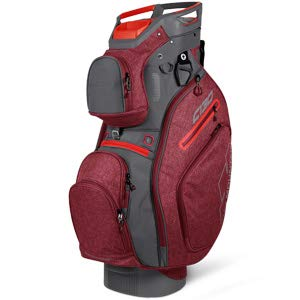 Golf Bag Utility (Sun Mountain 2019 Golf C-130 Cart Bag - Chili-Gunmetal)