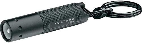 Led Lenser K1 – Linterna (Linterna de llavero, Negro, Aluminio, LED, 1 lámpara(s), 17 lm)