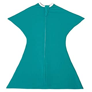 Classic Teal Swaddle Transition Zipadee-Zip Extra Small 3-6 Months (12-19 lbs, 25-29 inches)