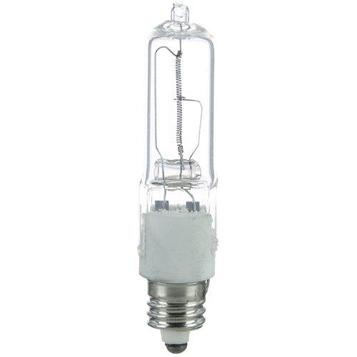 Sunlite Q75/CL/MC 75-Watt Halogen Mini Can Based T4 Bulb, Clear