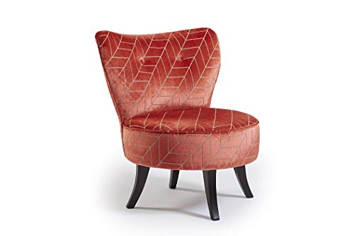 Best Home Furnishings Swivel Barrel Chair, Upholstered, Tufted Modern Armless Chair Made in USA