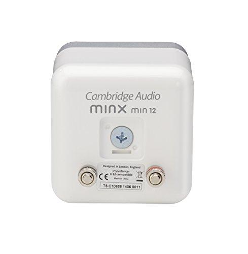 Cambridge Minx Min 12 Satellite Bookshelf Speaker - Each (White)