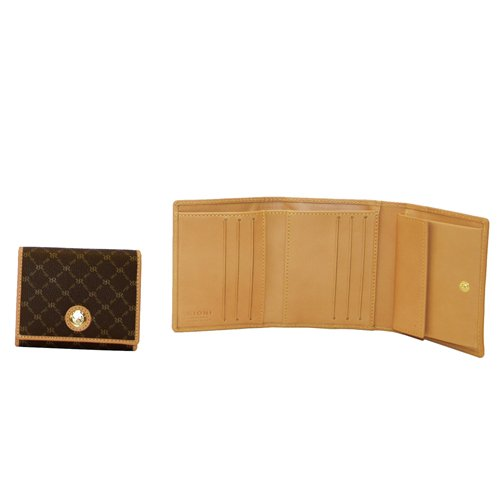 Signature Tri-fold Wallet By Rioni Designer Handbags & Luggage