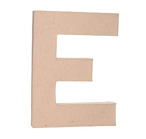 Darice Paper Mache Letter - E - 12 x 1.5 inches