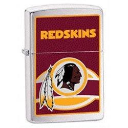NFL Washington Redskins Brushed Chrome Zippo Lighter